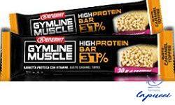 ENERVIT GYMLINE MUSCLE PROTEIN BAR 37% CARAMEL TOFFEE 1 PEZZO
