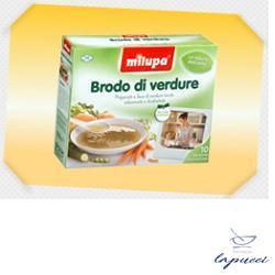 MILUPA LE VERDURE BRODO 10 BUSTINE 10 G