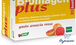 BIOMAGEN PLUS ARANCIA ROSSA 20 BUSTE ASTUCCIO 100 G