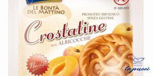 PIACERI MEDITERRANEI LE BONTA' DEL MATTINO CROSTATINE ALBICOCCA