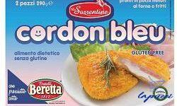 LE SORRENTINE CORDON BLEU SURGELATO SENZA GLUTINE 290 G
