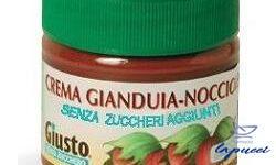 GIUSTO SENZA ZUCCHERO CREMA CACAO NOCCIOLE 200 G