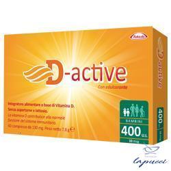 D-ACTIVE 400 UI 60 COMPRESSE
