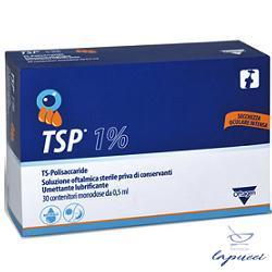 TSP 1% SOLUZIONE OFTALMICA UMETTANTE LUBRIFICANTE 30 FLACONCINI