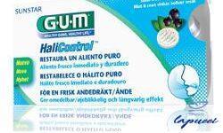 GUM HALICONTROL 10 COMPRESSE