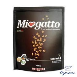 MIOGATTO SENIOR 0,4 SALMONE/RISO 400 G