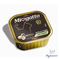 MIOGATTO ADULT INDOOR LIGHT GRAIN FREE 100 G