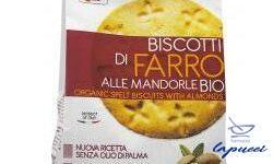 FSC BISCOTTI DI FARRO ALLE MANDORLE BIO CON OLIO DI GIRASOLESEN