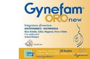 GYNEFAM ORO NEW 28 BUSTINE OROSOLUBILI