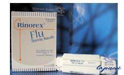 RINOREX FLU DOCCIA NASALE 10 FLACONCINI 10 ML