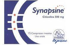 SYNAPSINE BLISTER 15 COMPRESSE ASTUCCIO 15 G