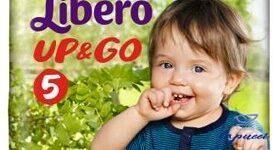 LIBERO UP&GO PANNOLINO PER BAMBINO TAGLIA 5 4X22 PEZZI