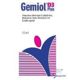 GEMIOL PLUS D3 150 ML