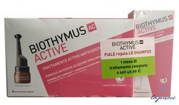 BIOTHYMUS DONNA TRATTAMENTO 10 FIALE  SHAMPOO RISTRUTTURANTE