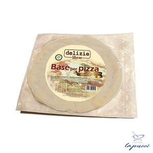 DELIZIE LIBERE BASE PER PIZZA SENZA GLUTINE CF ATM PRECOTTA270 G