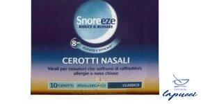 CEROTTO NASALE SNOREEZE CLASSICO LARGE 10 PEZZI