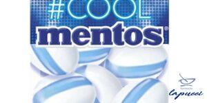 MENTOS COOL WILD MINT 22 G CHEWING GUM SENZA ZUCCHERO
