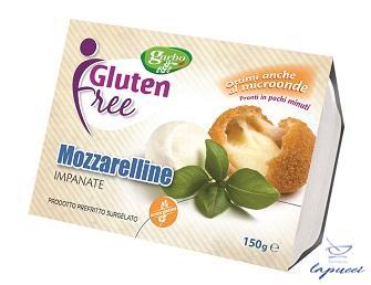MOZZARELLINE PANATE PREFRITTE SURGELATE 150 G
