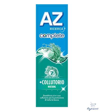 DENTIFRICIO AZ COMPLETE WHITENING  COLLUTORIO 75 ML