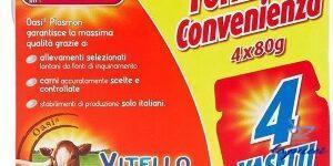 PLASMON OMOGENEIZZATO VITELLO 4 X 80 G