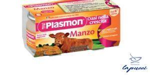 PLASMON OMOGENEIZZATO MANZO 4 X 80 G