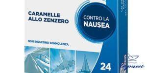 P6 NAUSEA CONTROL SEA BAND CARAMELLE ANTINAUSEA VIAGGIO ALLOZEN