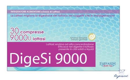 DIGESI 9000 30 COMPRESSE 9000U LATTASI