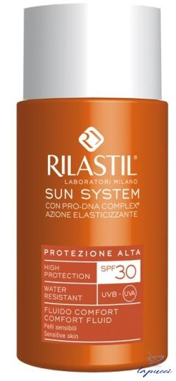 RILASTIL SUN SYSTEM PHOTO PROTECTION THERAPY SPF30 COMFORT FLUI
