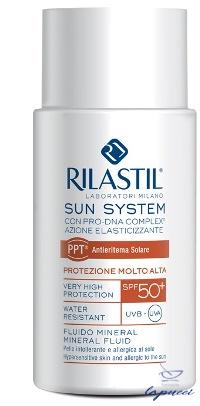 RILASTIL SUN SYSTEM PHOTO PROTECTION THERAPY SPF50 FLUIDO MINER