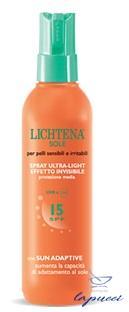 LICHTENA SOLE EMULSIONE ULTRALIGHT SPF 15 150 ML