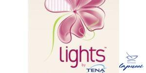 LIGHTS BY TENA NORMAL RIPIEGATI 22 PEZZI