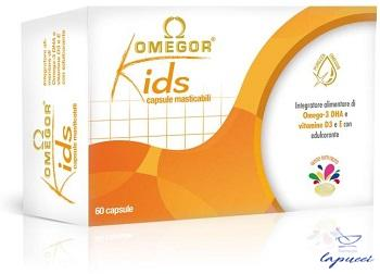 OMEGOR KIDS 60 CAPSULE MASTICABILI