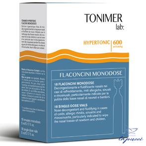 TONIMER LAB HYPERTONIC 18 FLACONCINI MONODOSE