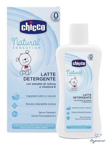 CHICCO LATTE DETERGENTE NATURAL SENSATION 200 ML