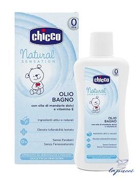 CHICCO OLIO BAGNO NATURAL SENSATION 200 ML