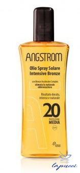 ANGSTROM OLIO SOLARE SPRAY INTENSIVE TAN SPF 20 150 ML