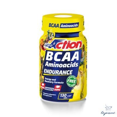 PROACTION BCAA AMINOACIDS ENDURANCE 130 COMPRESSE