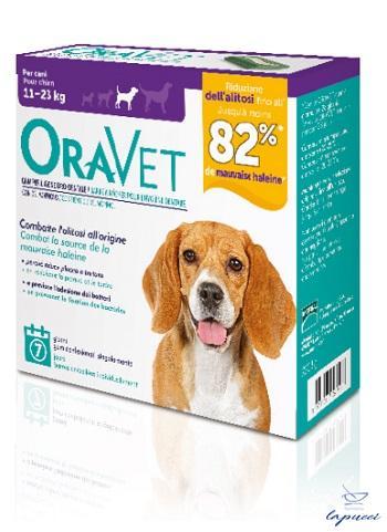 ORAVET CHEWING GUM DOG MEDIUM 7 PEZZI