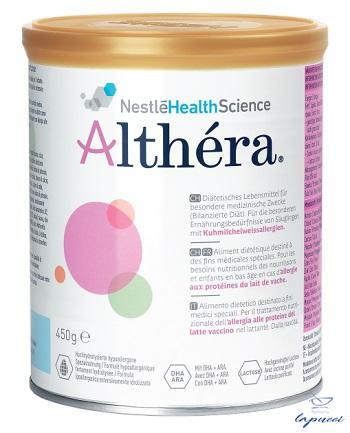ALTHERA LATTE IPOALLERGENICO NEUTRO 450 G