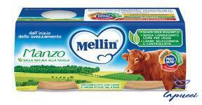 MELLIN OMOGENEIZZATO MANZO 2 X 80 G