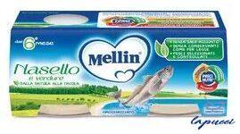 MELLIN OMOGENEIZZATO NASELLO 2 X 80 G