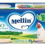 MELLIN OMOGENEIZZATO POLLO 4X80 G