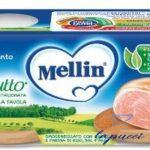 MELLIN OMOGENEIZZATO PROSCIUTTO 4 X 80G