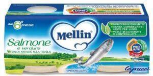 MELLIN OMOGENEIZZATO SALMONE 2 X 80 G