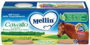 MELLIN OMOGENEIZZATO CAVALLO E PATATE 2 X 80 G