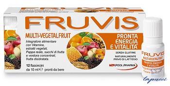 FRUVIS MULTI-VEGETALFRUIT PRONTA ENERGIA E VITALITA' 12 FLACONC