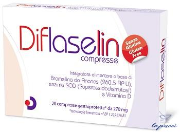 DIFLASELIN 20 COMPRESSE GASTROPROTETTE 270 MG