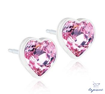 BLOMDAHL GIOIELLO MP HEART 6 MM LIGHT ROSE