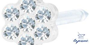BLOMDAHL FORALOBO MP DAISY 5MM CRYSTAL