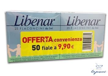 LIBENAR ISO 25 FIALE  25 FIALE BIPACCO